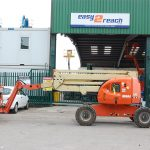 JLG 510AJ Boom Lift for Rough Terrain