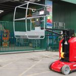Manitou 100VJR Cherry Picker stock picker