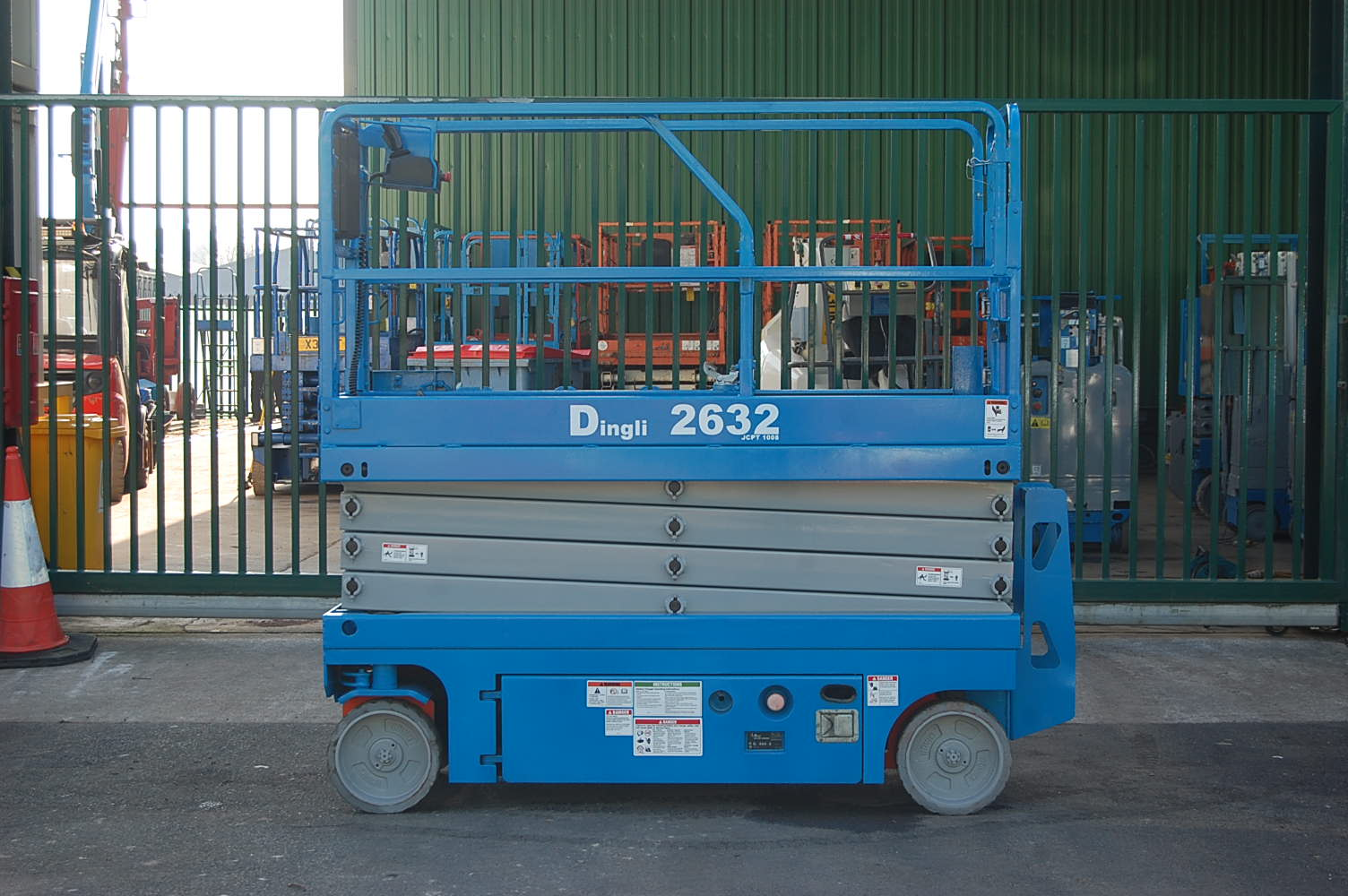 Dingli (Like Genie) JCPT1008HD 10m Electric Scissor Lift