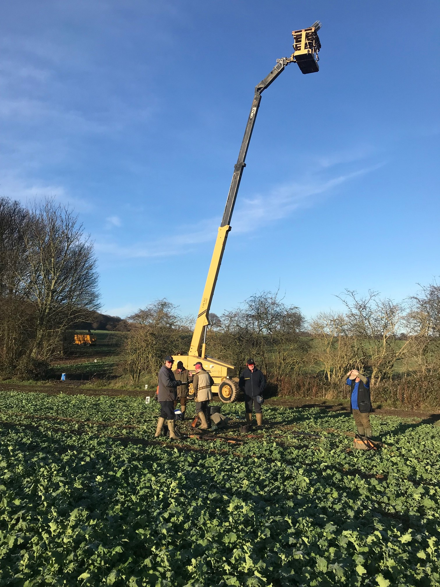 Grove MZ82C 25 Metres Telescopic Boom Lift for clay pigeon shooting