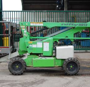 Niftylift HeightRider HR12 4X4 12.2m Boom Lift