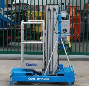 Genie IWP 20S Mast Lift AC Power