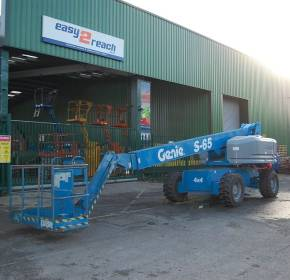 Genie S-65 Telescopic 21M Boom Lift