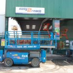 Genie GS3268RT Rough Terrain 11.75m scissor lift