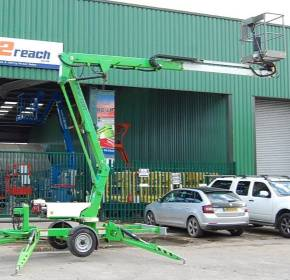 NiftyLift 120TPE Trailer Mounted Boom Lift