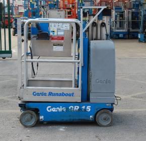 Genie GR15 Runabout Mast Lift