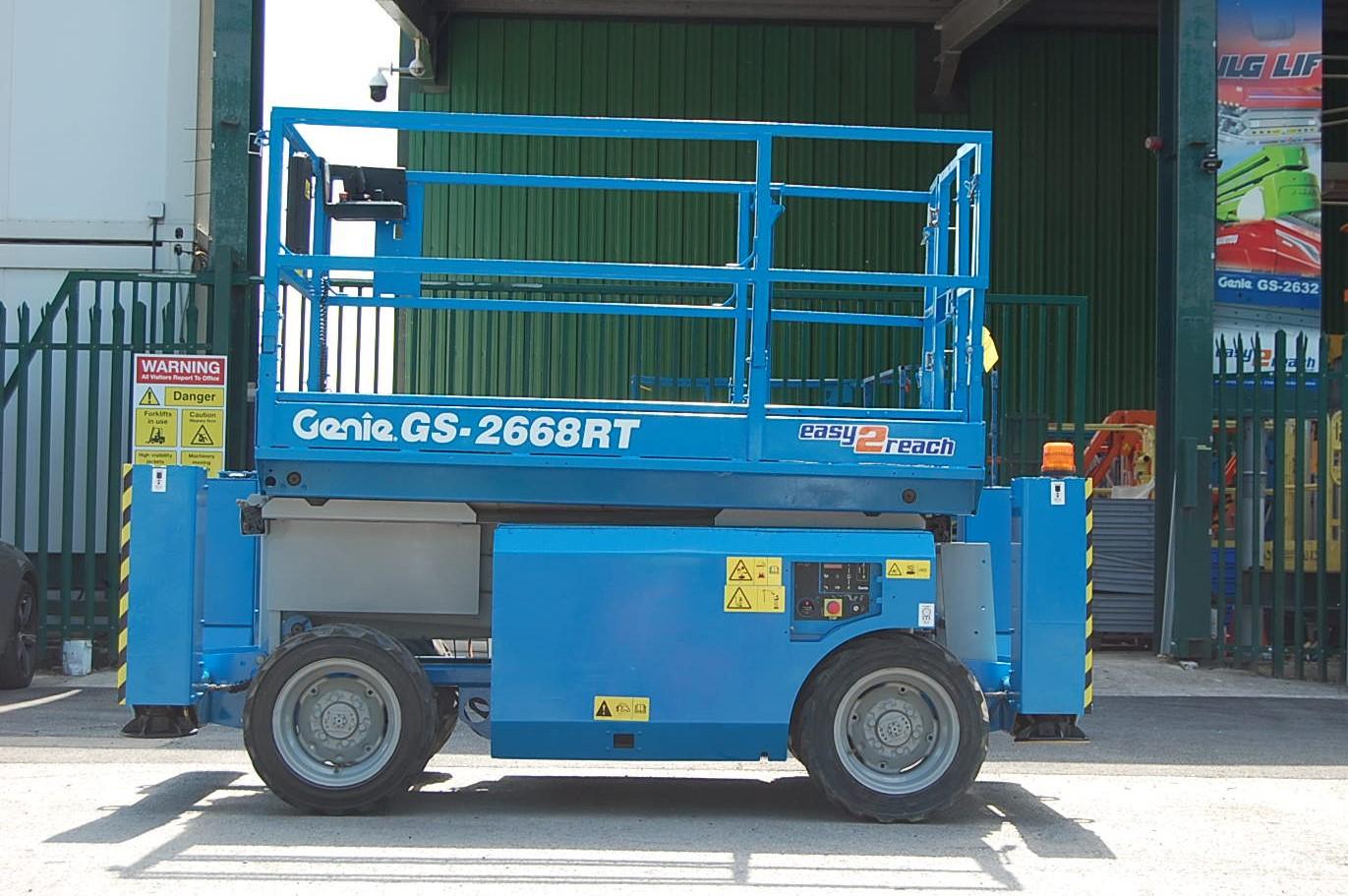 Genie GS2668RT Diesel Scissor Lift