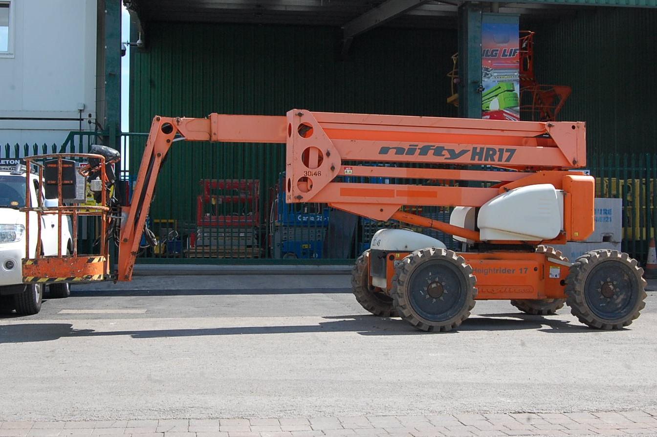 Niftylift HeightRider HR17 4X4 Boom Lift