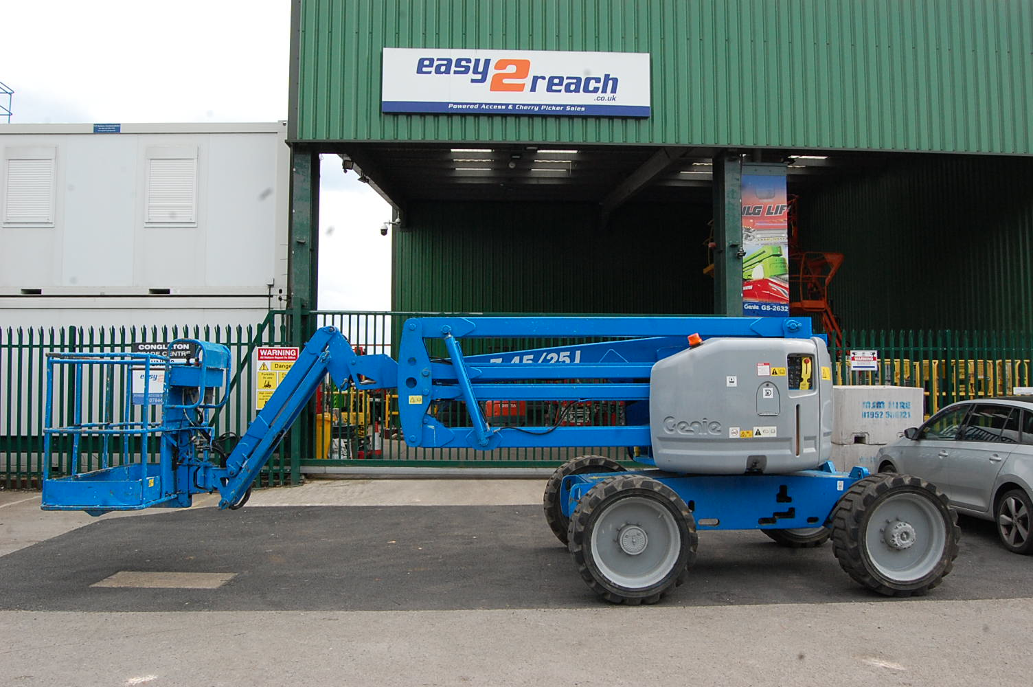 2007 Genie Z45/25J 4×4 Rough Terrain Boom Lift