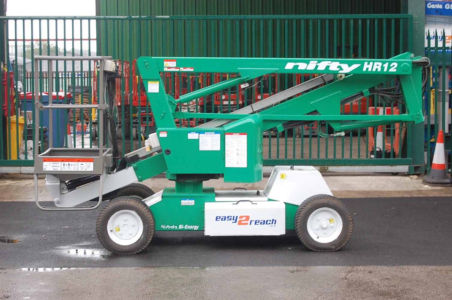 Niftylift HR12 NDE Bi-Energy 12m Boom Lift