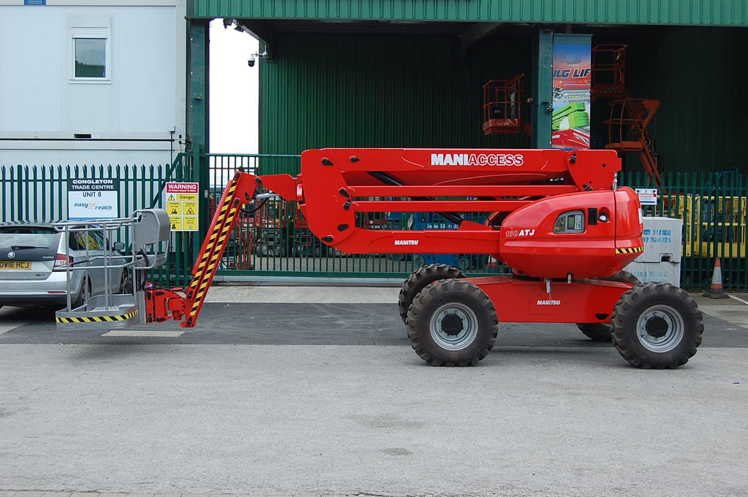 Manitou 160ATJ Diesel Powered 16m Boom Lift