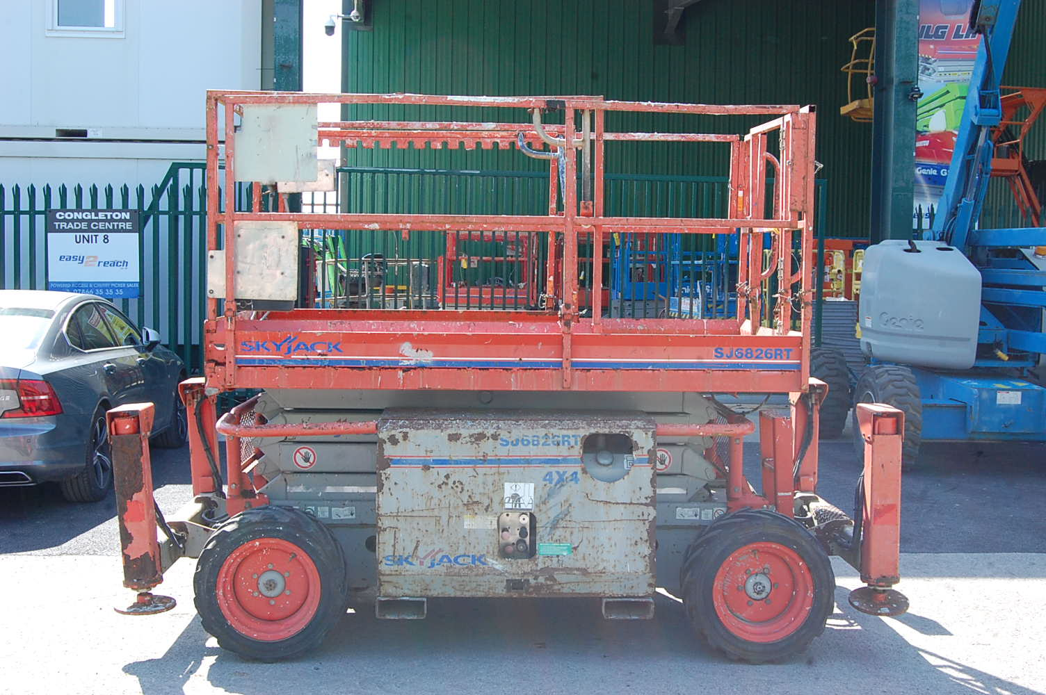 Skyjack 6826RT Rough Terrain 10m Diesel Scissor Lift