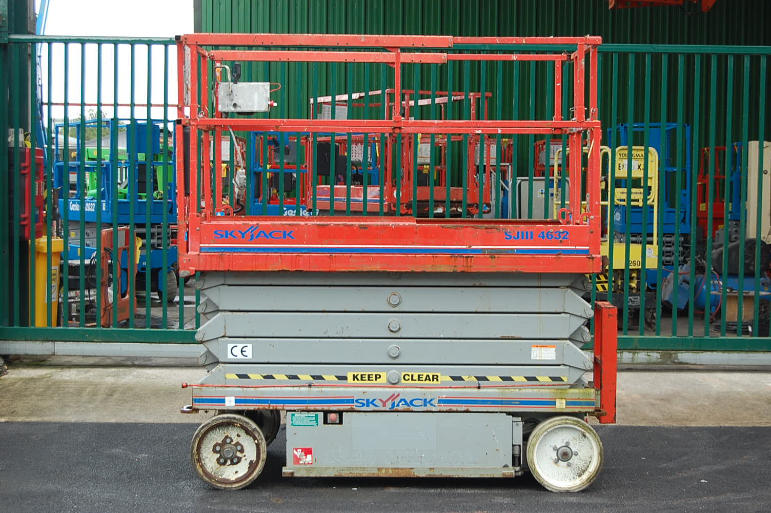 Skyjack 4632 Electric 12m Scissor Lift