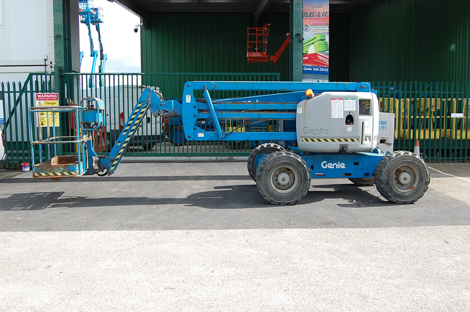 Genie Z45/25J Rough Terrain Diesel Boom Lift