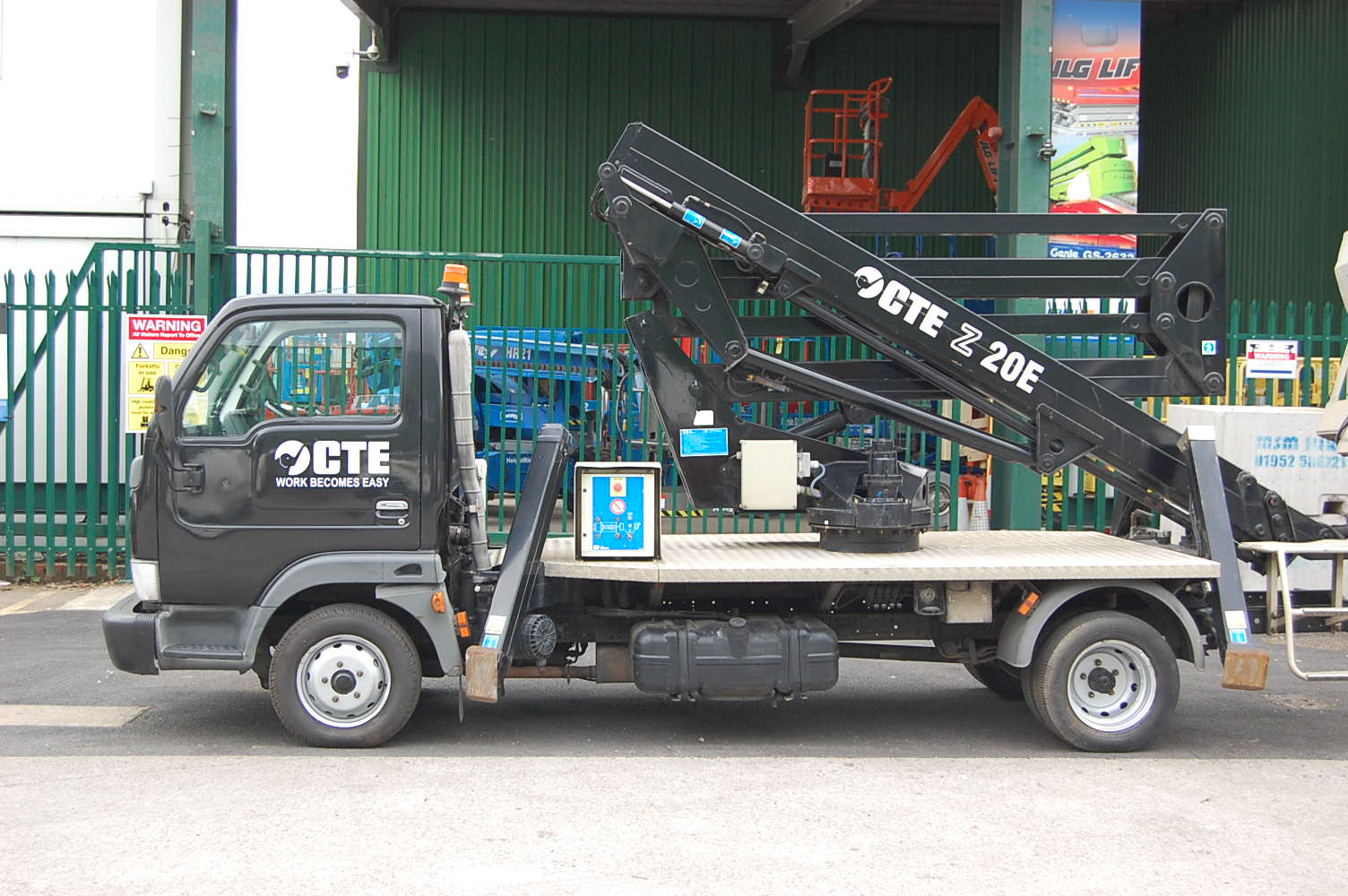 Nissan Cabstar with CTE Z 20E Access Platform Truck Mount