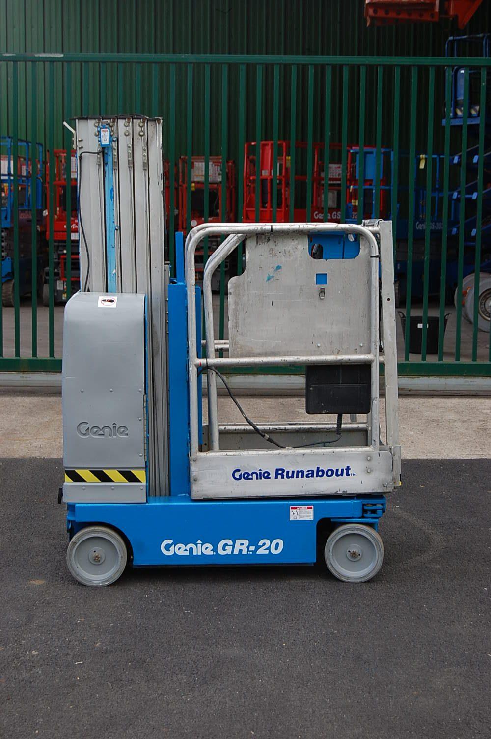 Genie GR20 8m Mast Lift