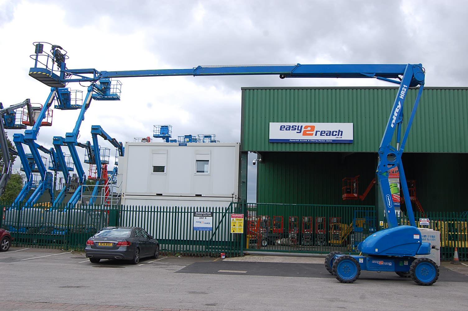 Niftylift HR21 4×4 Diesel 21m Boom Lift