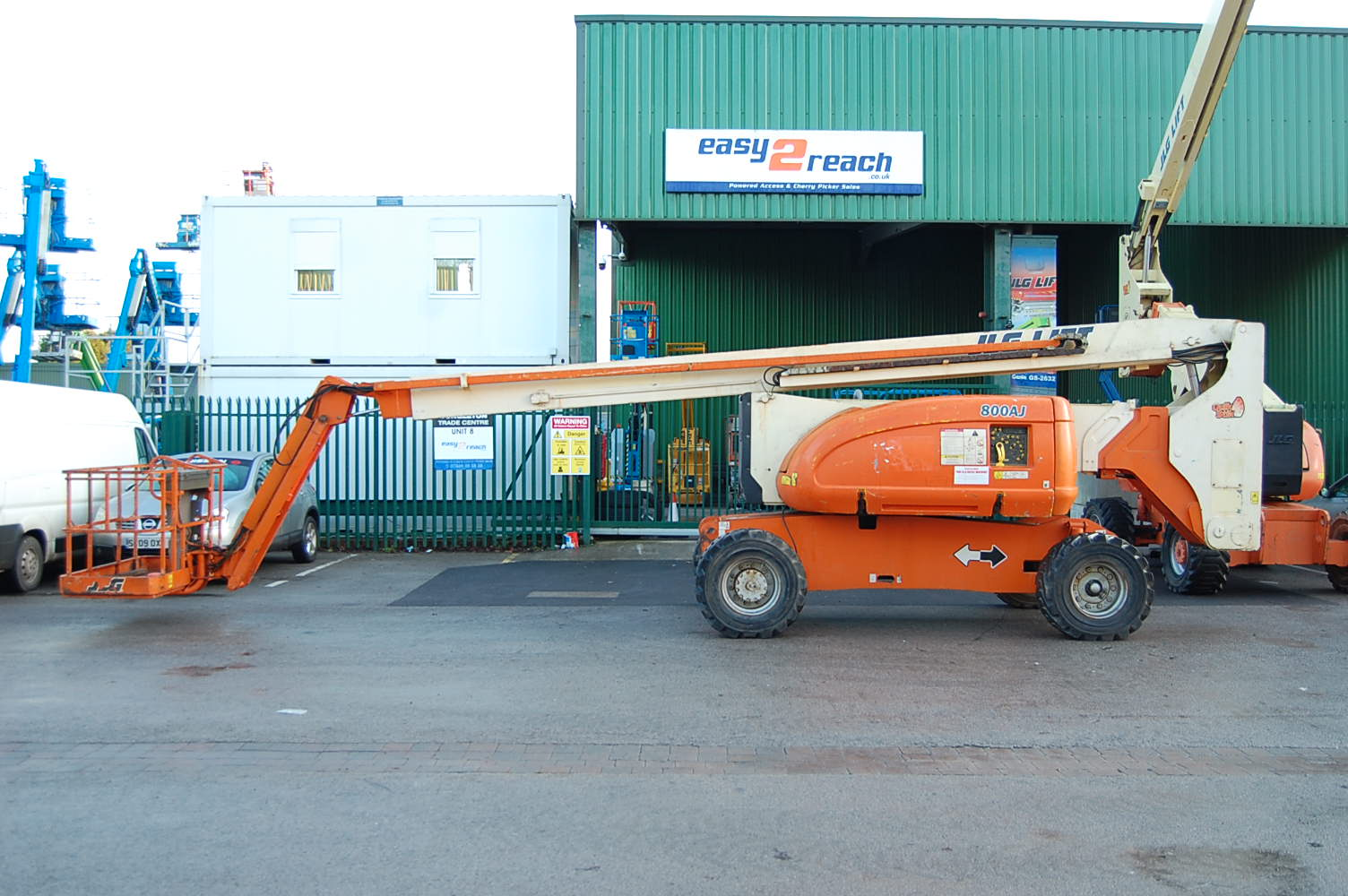 JLG 800AJ Rough Terrain Diesel Boom Lift
