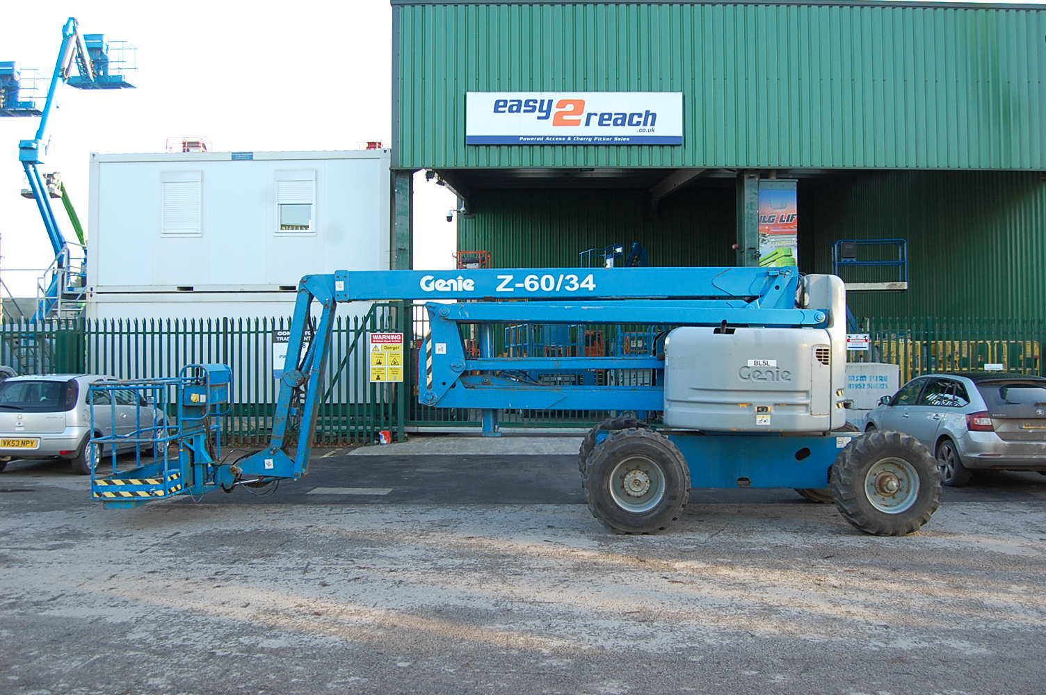 Genie Z60/34 Diesel Boom Lift