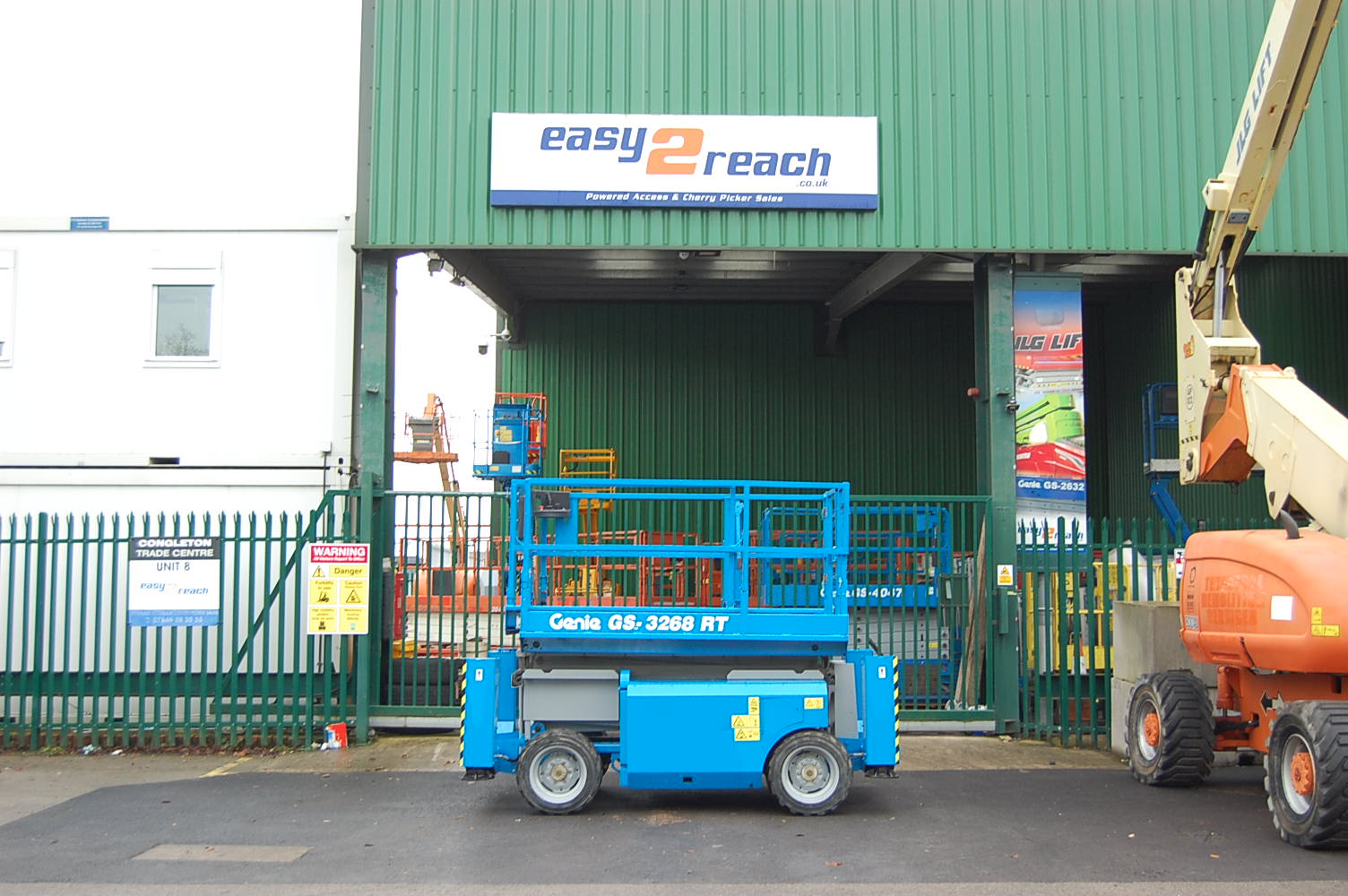 Genie 3268RT Rough Terrain Diesel Scissor Lift