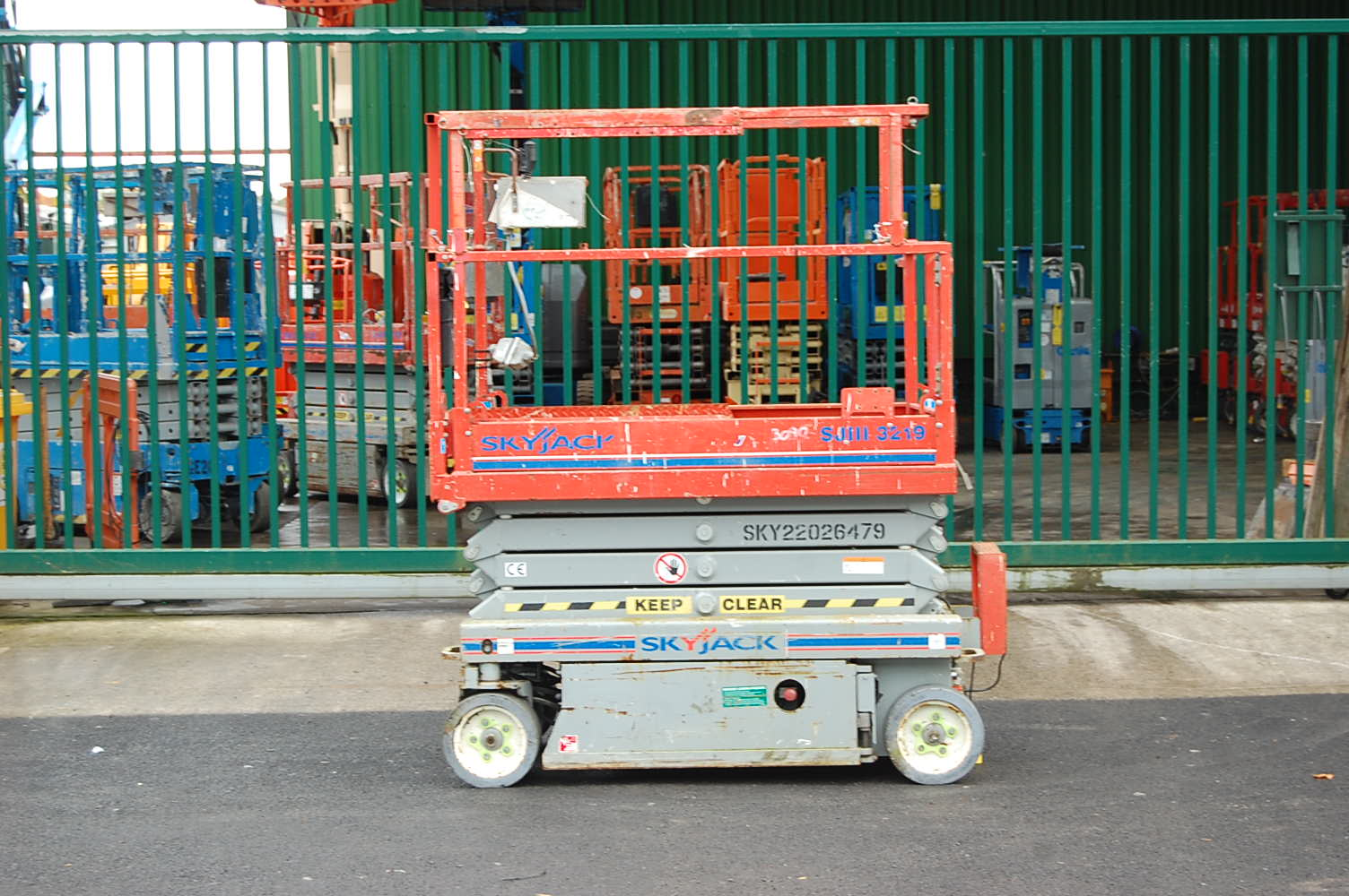Skyjack 3219 Electric Scissor Lift