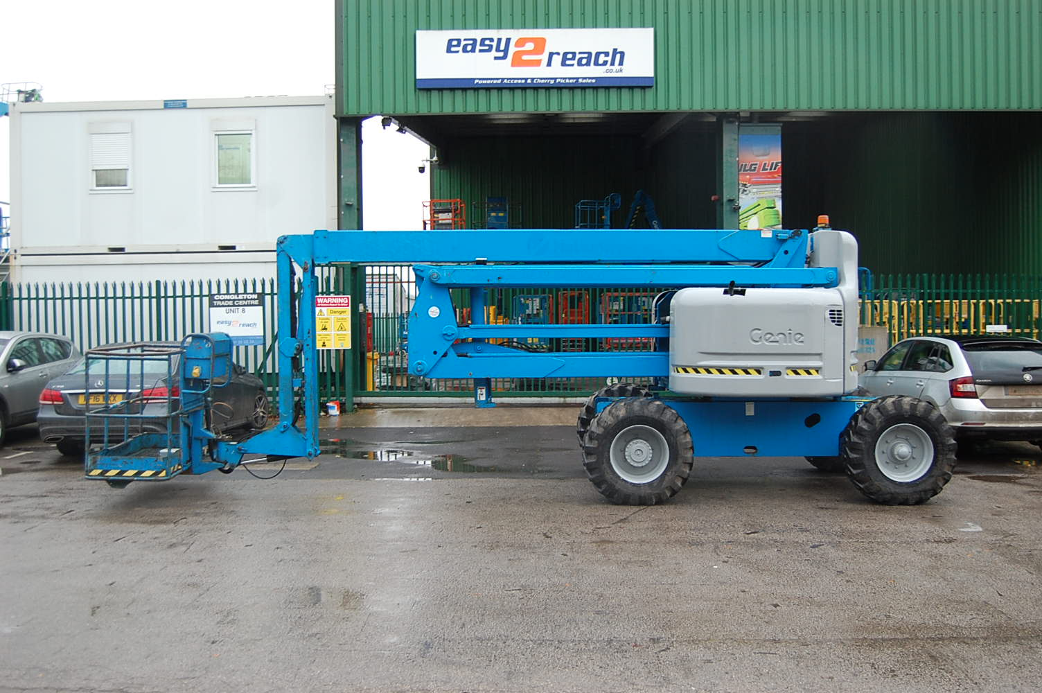 2000 Genie Z60/34 Diesel Cherry Picker 20m