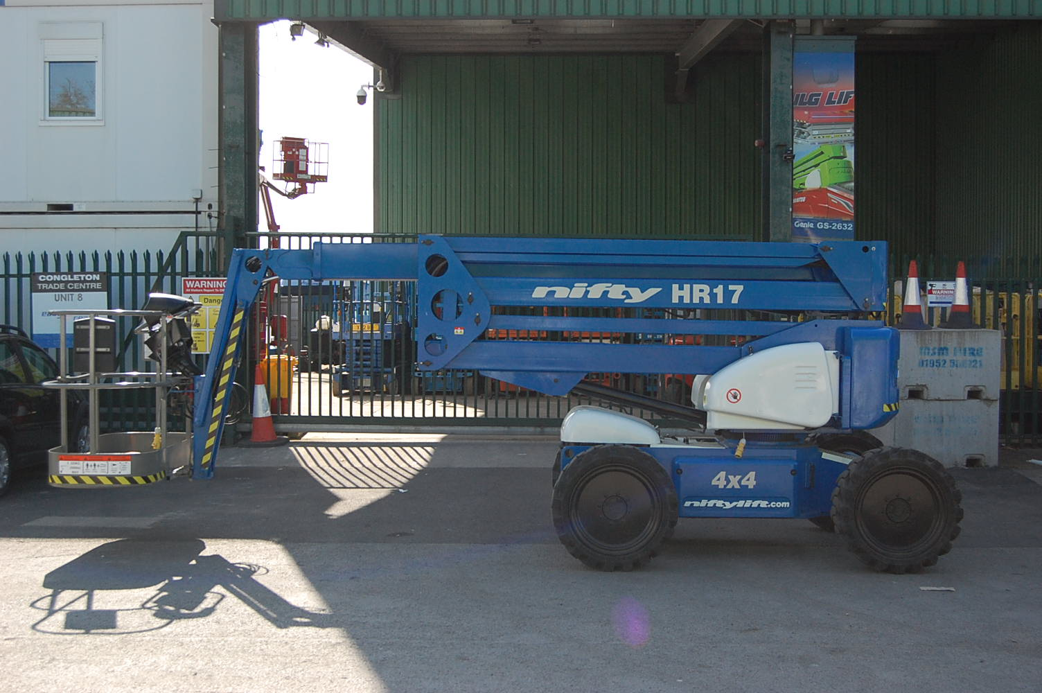 Niftylift HR17 4×4 Boom Lift