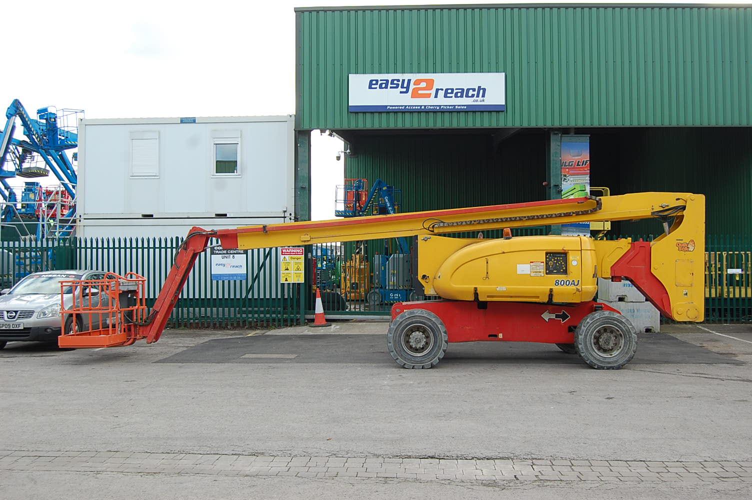JLG 800AJ Diesel Rough Terrain Boom Lift 26.5m