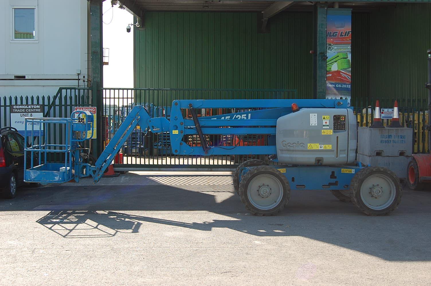 2013 Genie Z45/25J Rough Terrain Diesel Boom Lift 16m