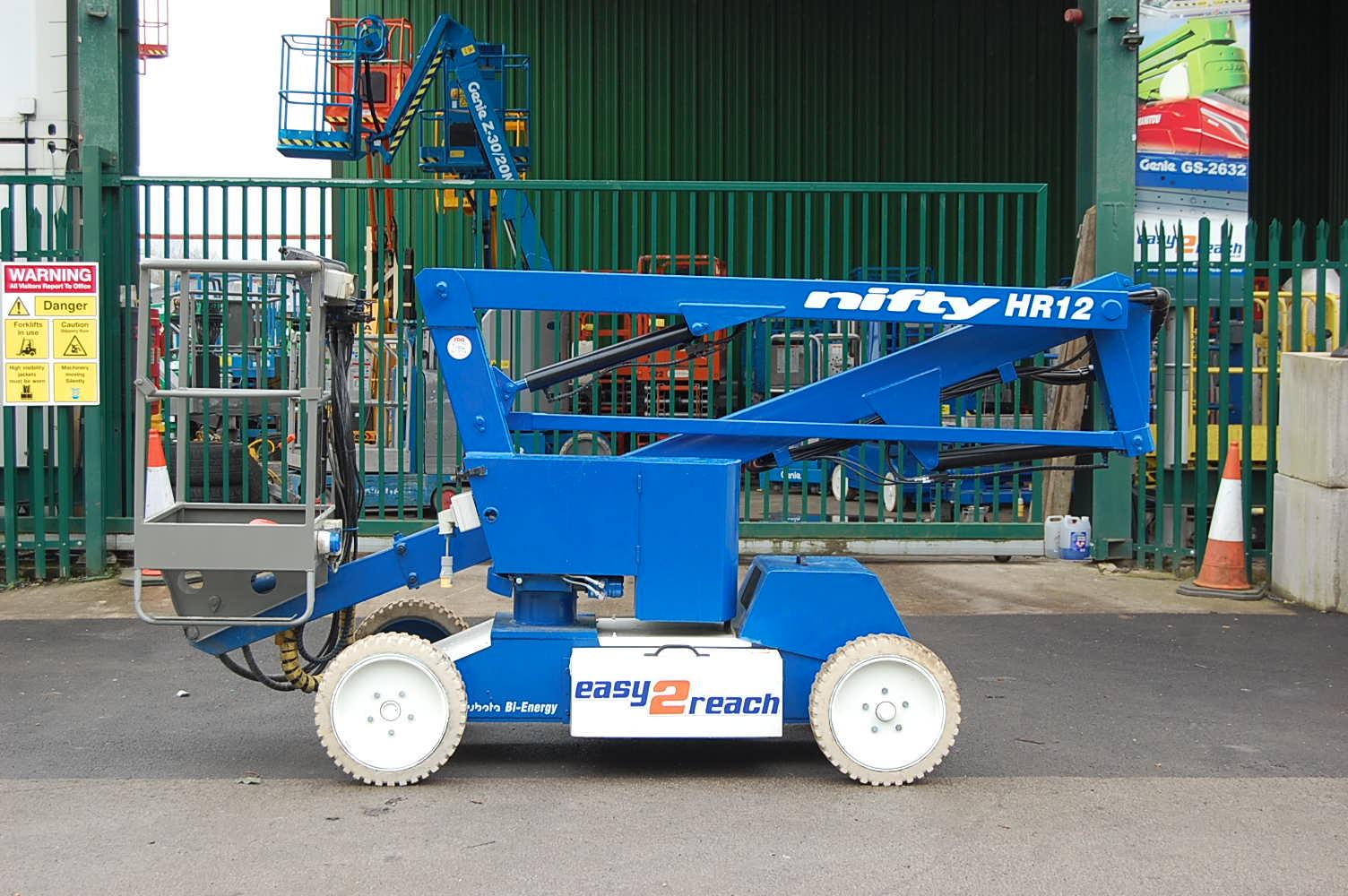 Niftylift HR12 NDE Boom Lift