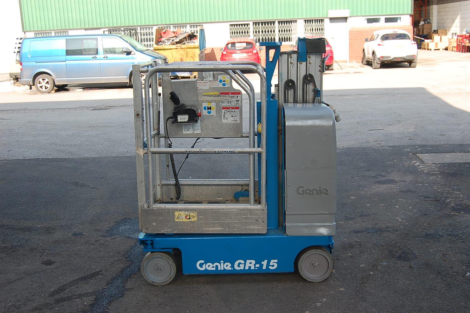 2007 Genie GR15 Man Lift 6.5m