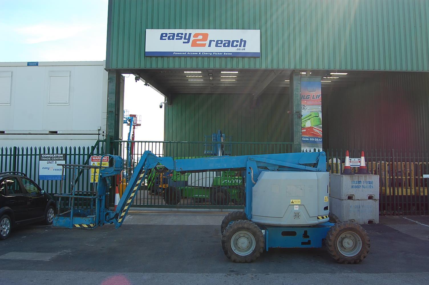 2007 Genie Z34/22 Rough Terrain Boom Lift 12.5m