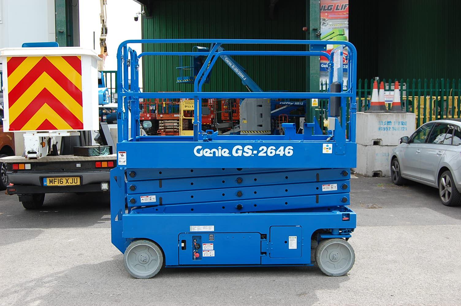 Genie 2646 Electric Scissor Lift 10m