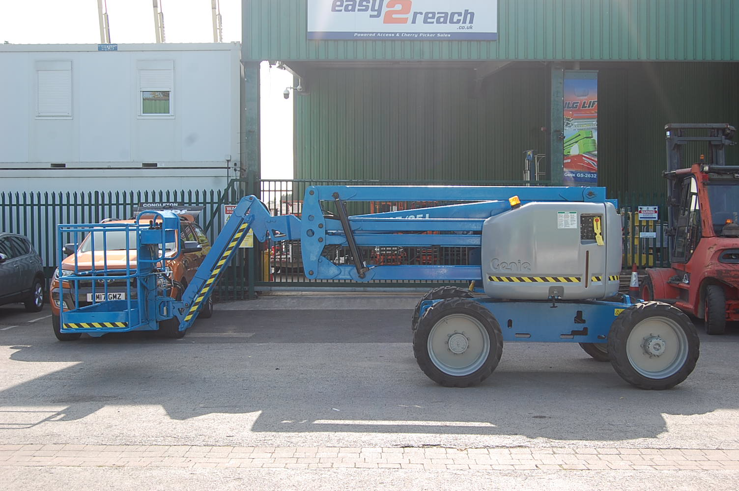 2006 Genie Z45/25J Rough Terrain Diesel Boom Lift