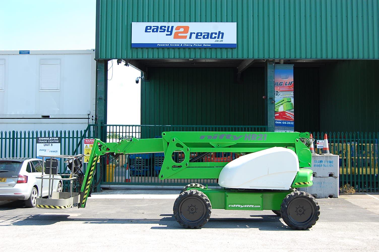 2007 Niftylift HR21 Diesel 4×4 Boom Lift