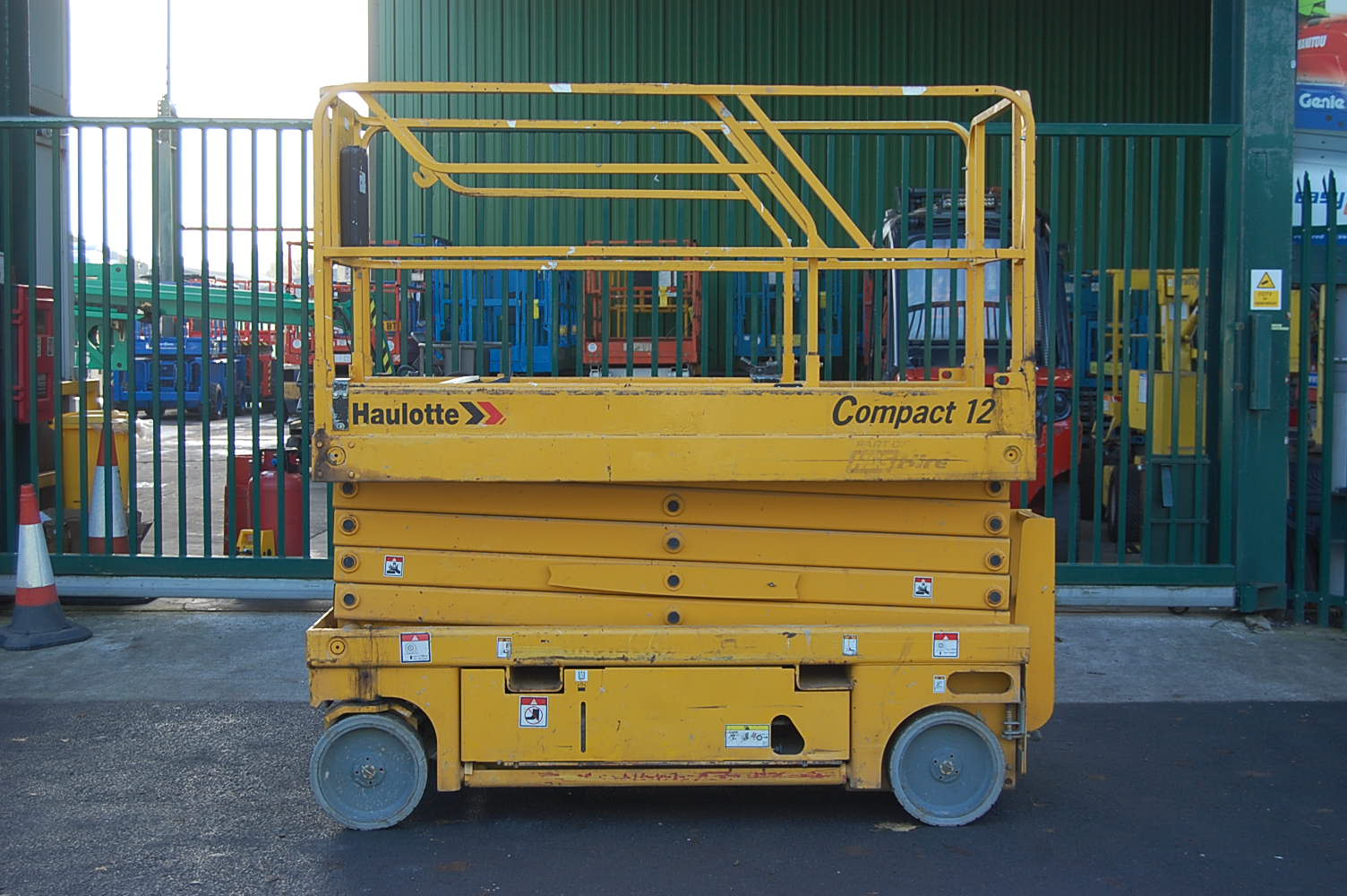 2007 Haulotte Compact 12 Electric Scissor Lift 12m