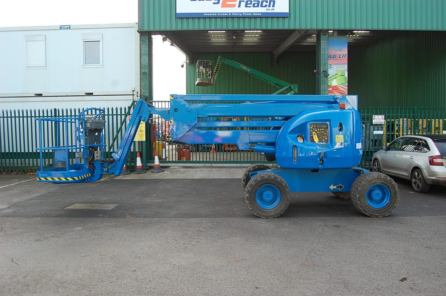 2008 JLG 450AJ Rough Terrain Diesel Boom Lift 15.5m