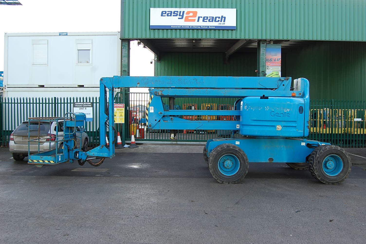 2006 Genie Z60/34 Rough Terrain Diesel Boom Lift 20m