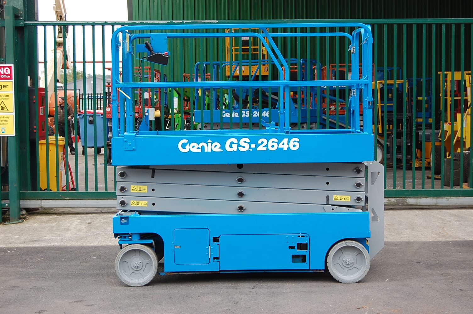 2014 Genie 2646 Electric Scissor Lift 10m