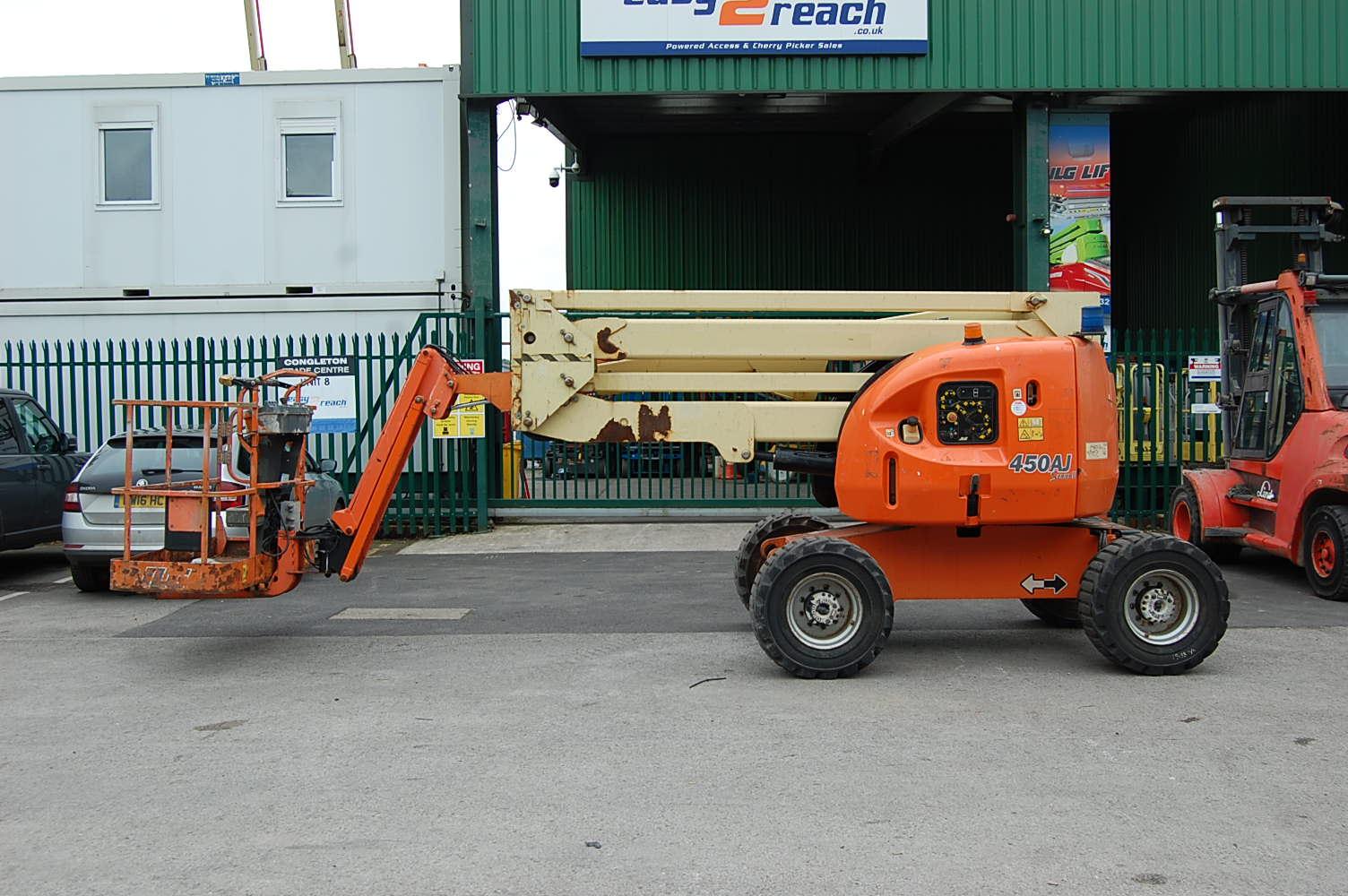 2007 JLG 450AJ Rough Terrain Boom Lift 15.5m