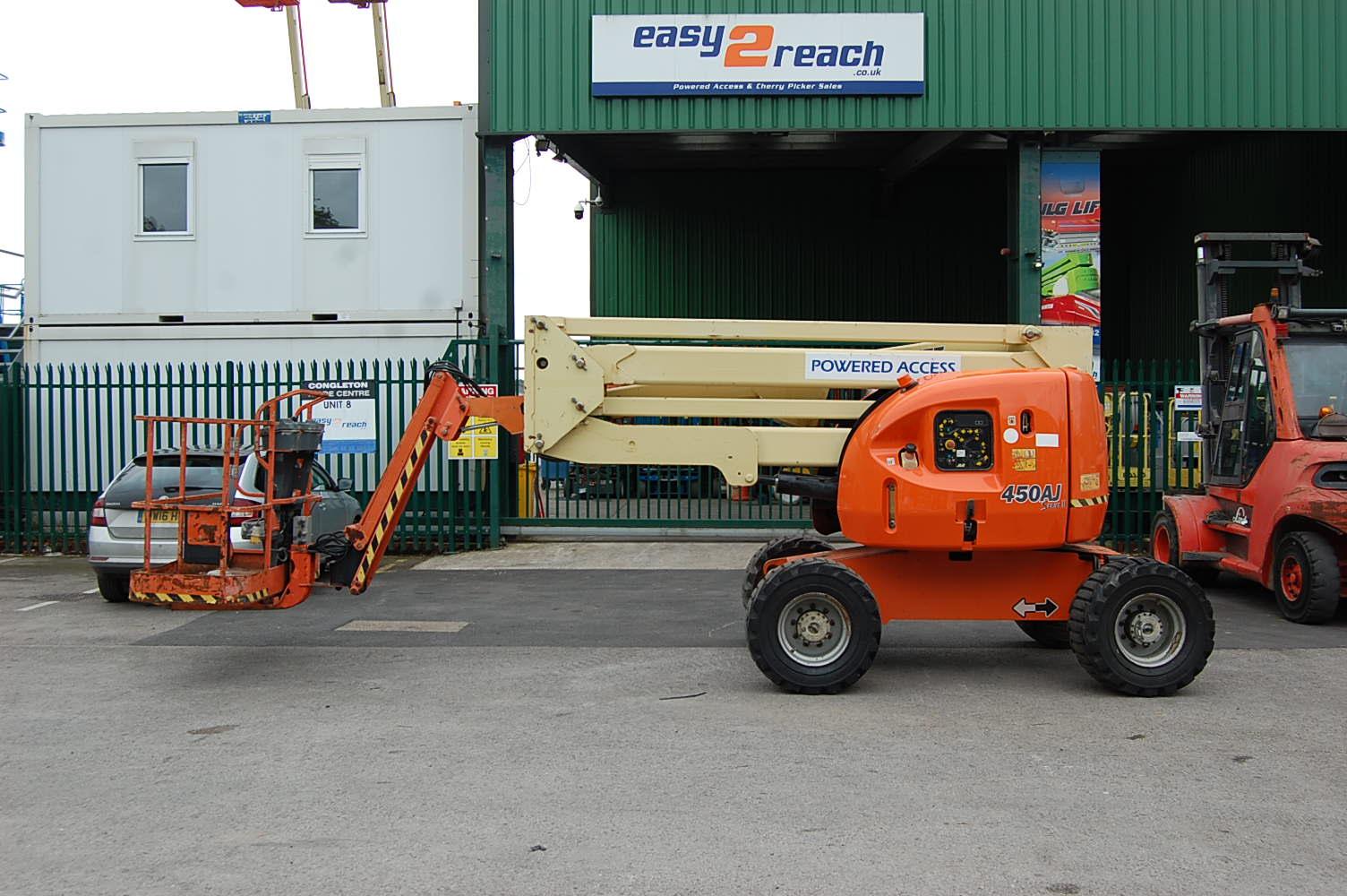 2007 JLG 450AJ Rough Terrain Diesel Boom Lift 15.5m