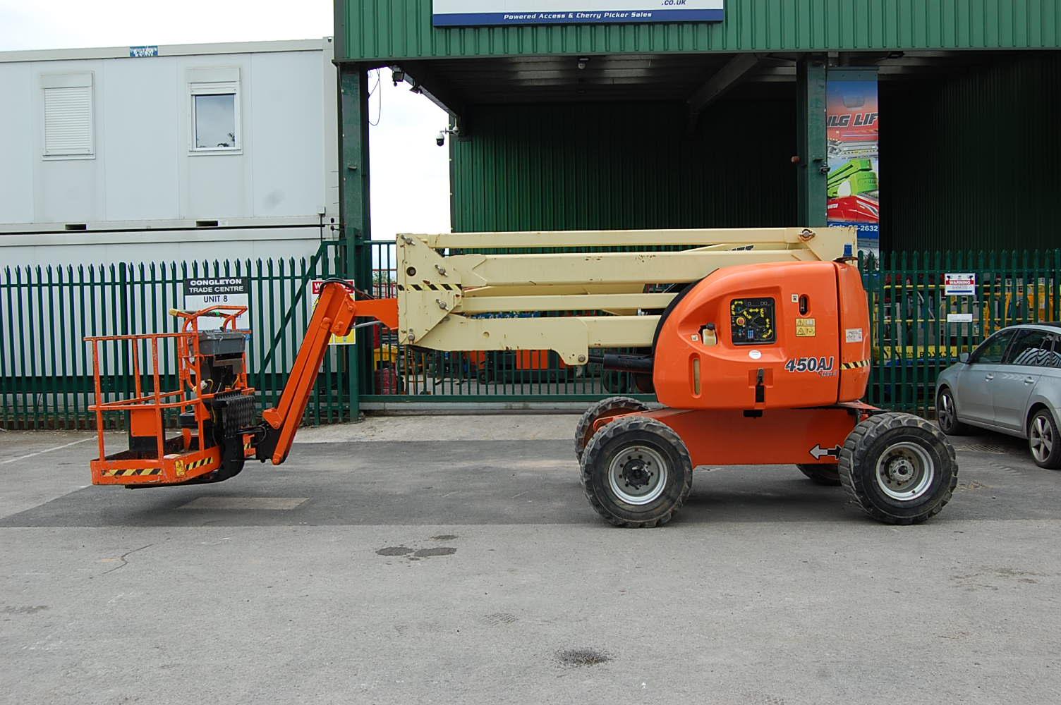 2012 JLG 450AJ Rough Terrain Diesel Boom Lift 15.7m