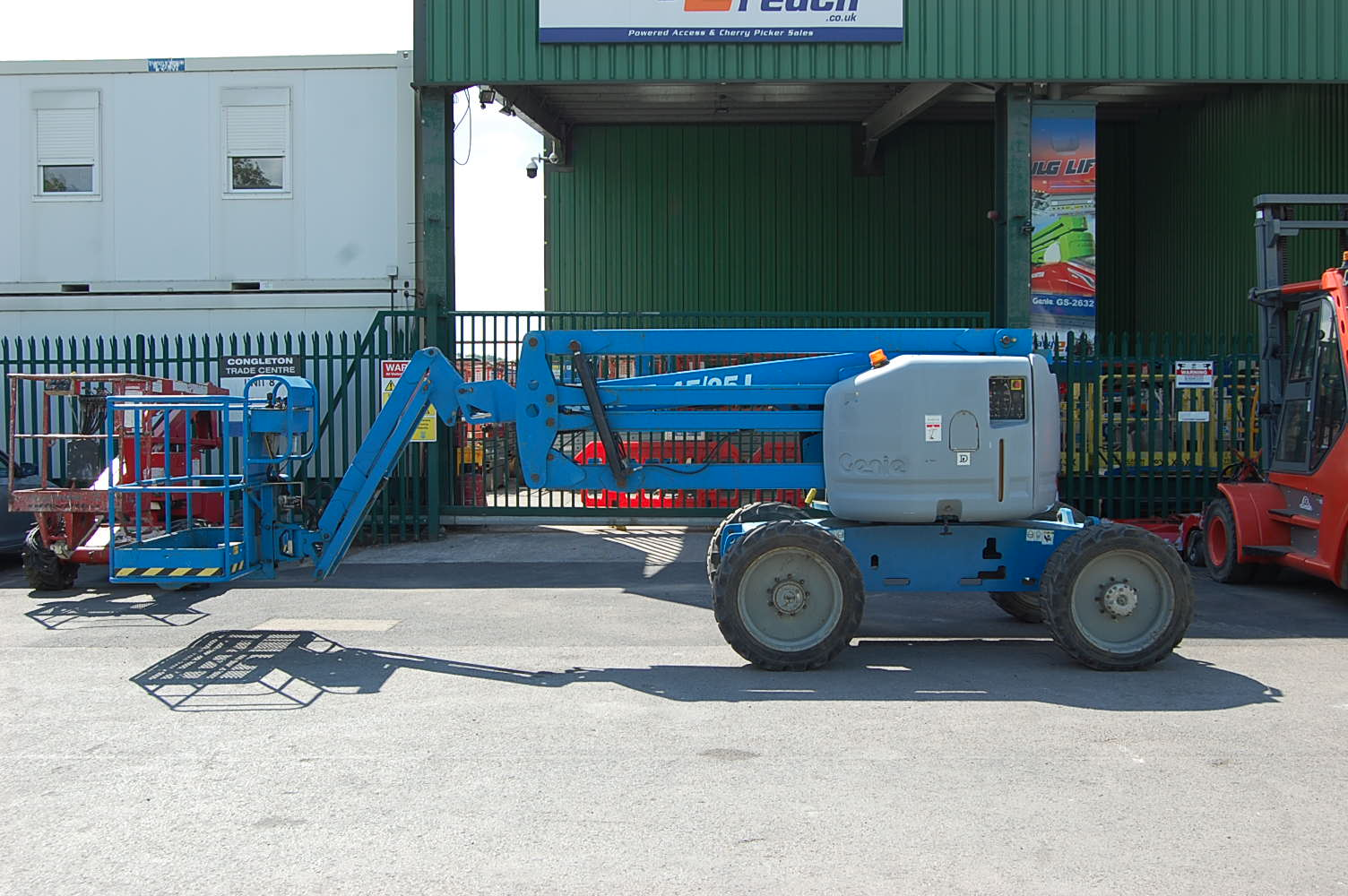 2007 Genie Z45/25J 4×4 Diesel Boom Lift 15.8m