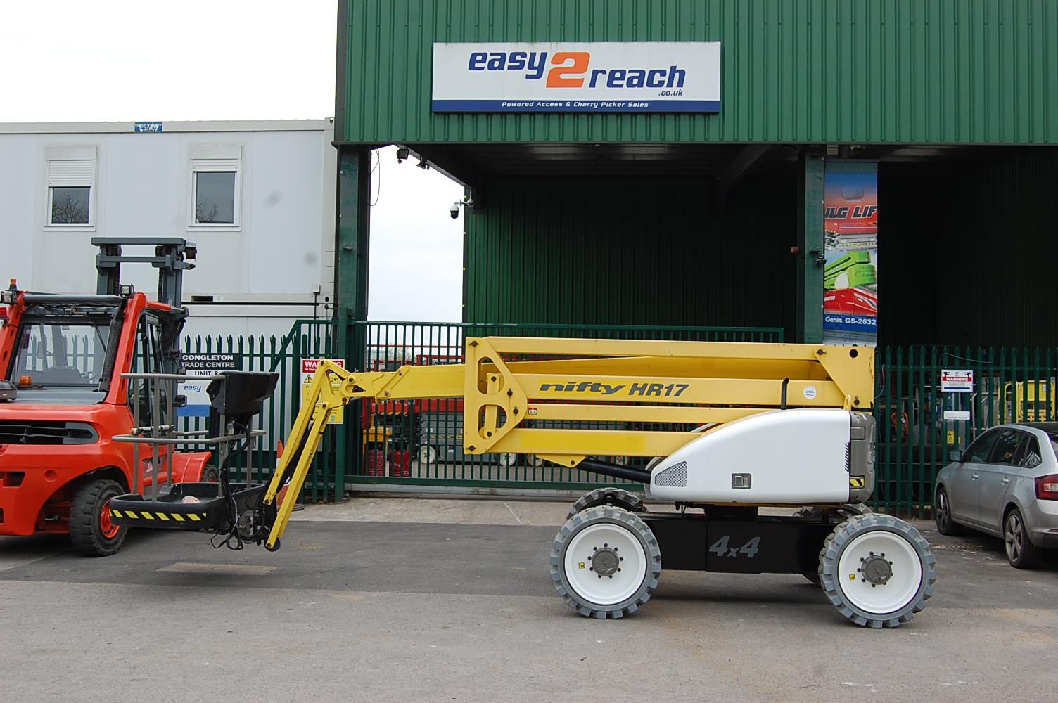 2013 Niftylift HR17 Rough Terrain Diesel Boom Lift 17.2m