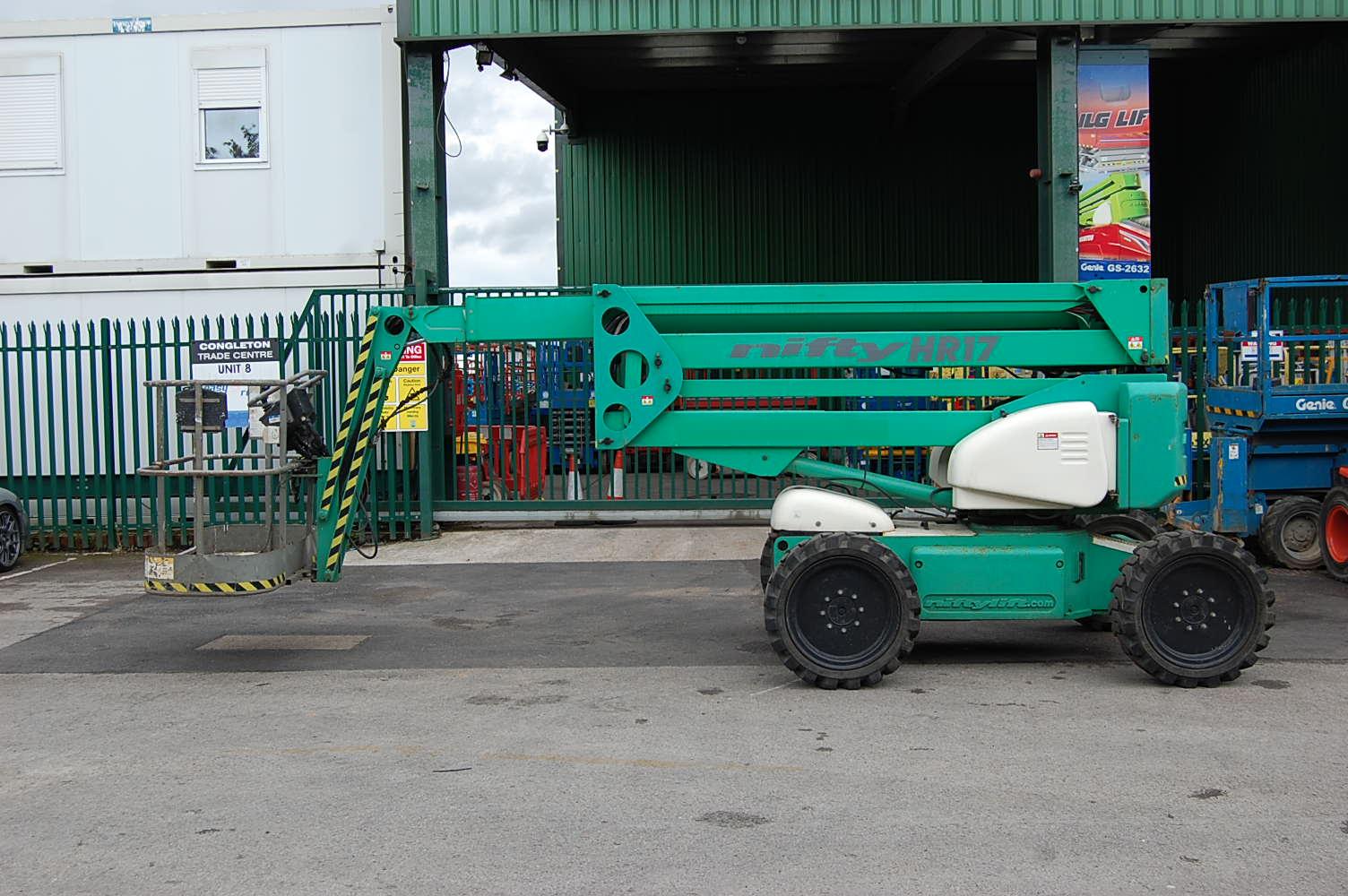 2006 Niftylift HR17 Rough Terrain Diesel Boom Lift 17m