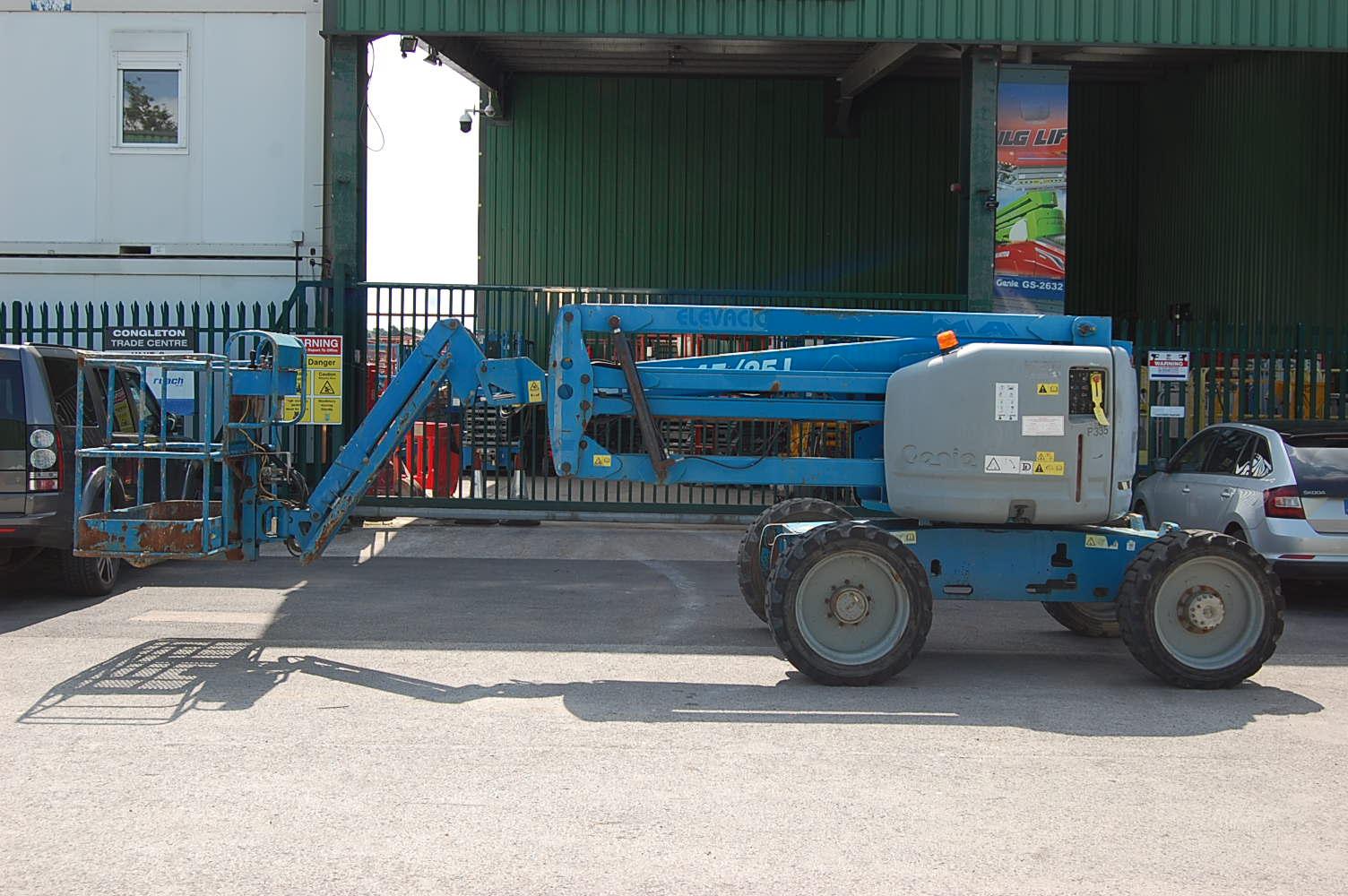 2007 Genie Z45/25J 4×4 Diesel Boom Lift 15m